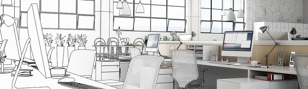 Piękne wnętrza w miejscu pracy – inspirujemy do zmian