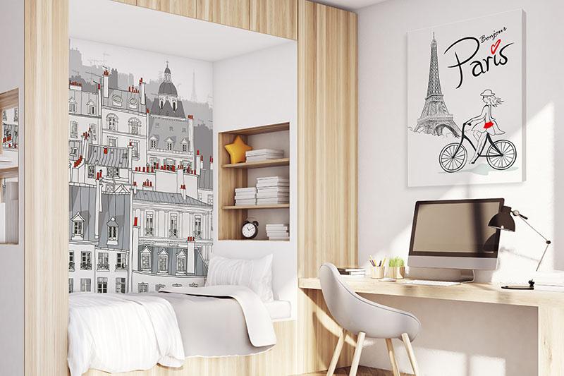 Fototapeta do pokoju nastolatki - Paryż