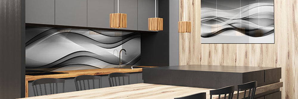 Panele szklane do kuchni i łazienki – nowoczesna dekoracja o pięknym designie