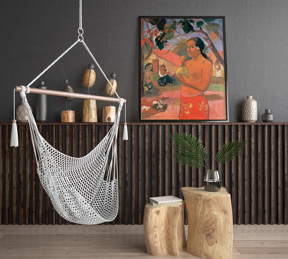Obraz zreprodukcją Paula Gauguina