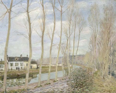 FototapetaAlfred Sisley - The Loing s Canal