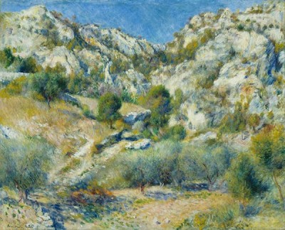 FototapetaAuguste Renoir - Rocky Crags at L Estaque