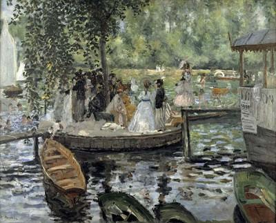 FototapetaAuguste Renoir - La Grenouillère