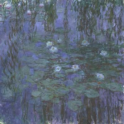 FototapetaClaude Monet - Blue Water Lilies