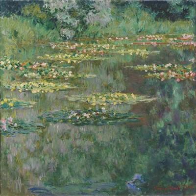 FototapetaClaude Monet - Le Bassin des Nympheas