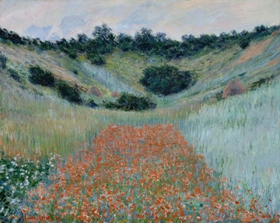 FototapetaClaude Monet - Poppy Field in a Hollow near Giverny