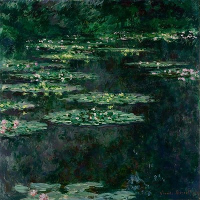FototapetaClaude Monet - Waterlilies IV