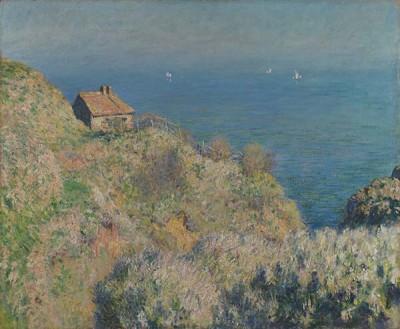 FototapetaClaude Monet - la maison du pcheur varengeville