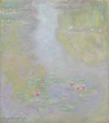 Fototapeta Claude Monet - water lilies V