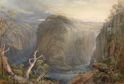 Fototapeta Conrad Martens - One of the falls on the Apsley_mini