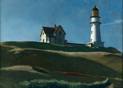 Fototapeta Reprodukcje na ścianę Edward Hopper – Lighthouse Hill