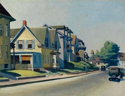 FototapetaEdward Hopper – Sun on Prospect Street