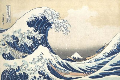 Fototapeta Hokusai Katsushika - The Great Wave at Kanagawa