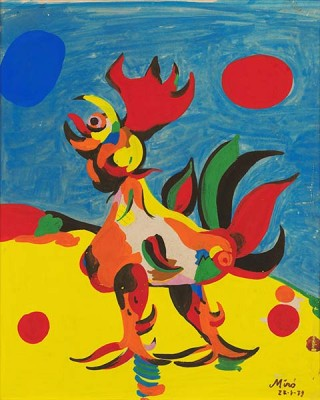 Fototapeta Joan Miro - The Rooster