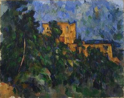 FototapetaPaul Cezanne - Château Noir 1903 - 1904