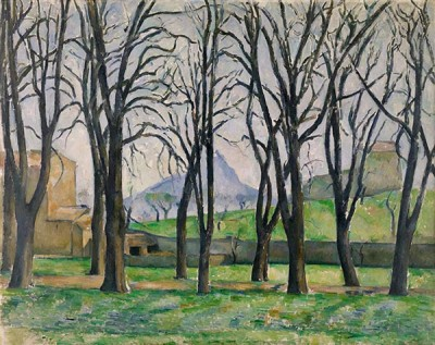 FototapetaPaul Cezanne - Chestnut Trees at Jas de Bouffan