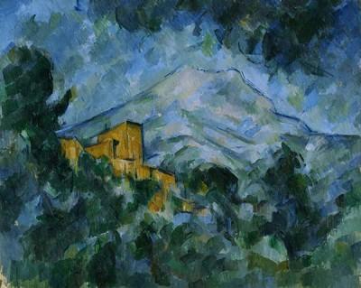 FototapetaPaul Cezanne - Mont Sainte-Victoire and Château Noir