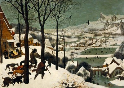 Fototapeta Reprodukcje na ścianę Pieter Bruegel - the Elder Hunters in the Snow