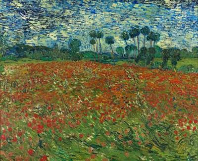 FototapetaVincent van Gogh - Poppy field