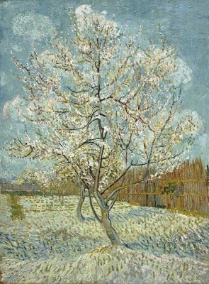FototapetaVincent van Gogh - The Pink Peach Tree