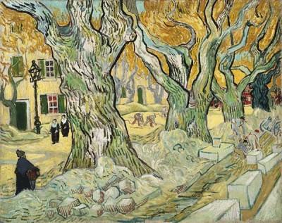 Fototapeta Vincent van Gogh - The Road Menders