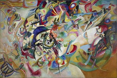 Fototapeta Wassily Kandinsky - Composition VII