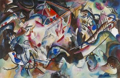 Fototapeta Wassily Kandinsky - Kompozycja VI