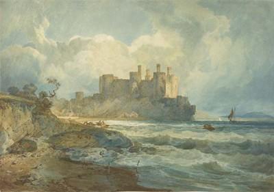 Fototapeta William Turner - Conway Castle North Wales