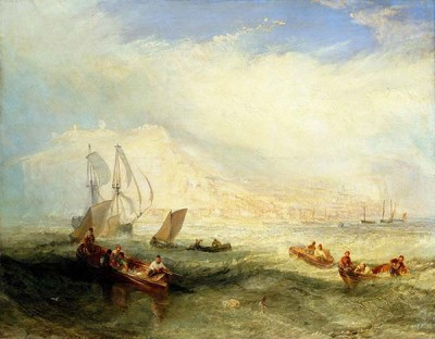 Fototapeta Reprodukcje na ścianę William Turner - Line Fishing Off Hastings