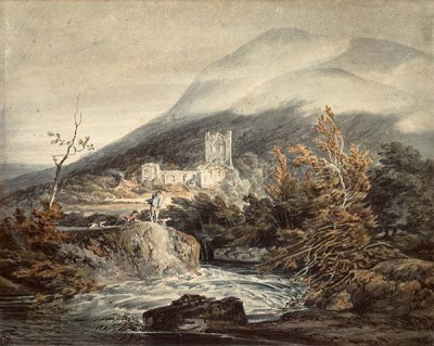FototapetaWilliam Turner - Llanthony Abbey Monmouthshire