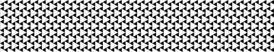Fototapeta Czarno-białe trójkąty