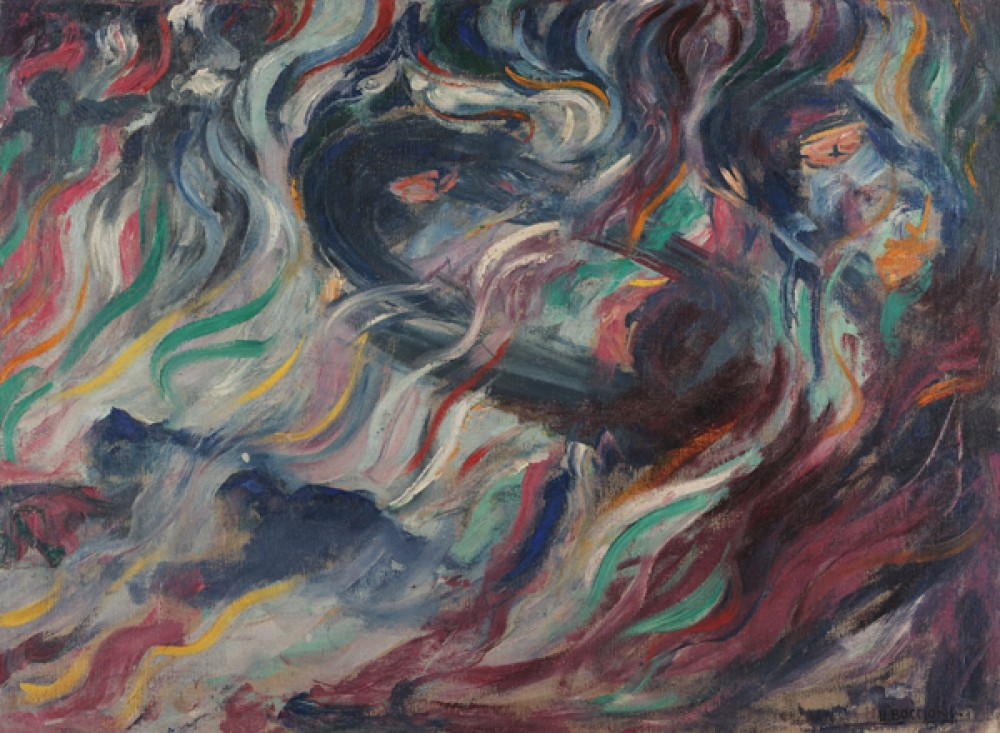 Fototapeta Reprodukcje na ścianę Umberto Boccioni - Stati danimo - Gli addii