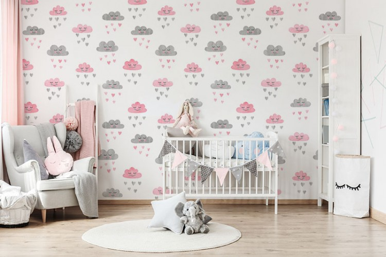 Fototapeta z chmurkami do pokoju dziecka
