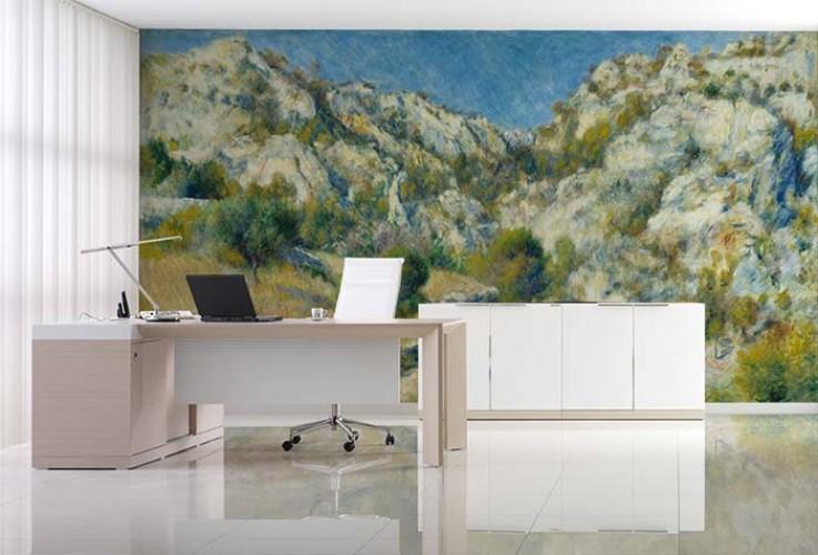 Fototapeta z obrazem Augusta Renoira do wnętrza biura