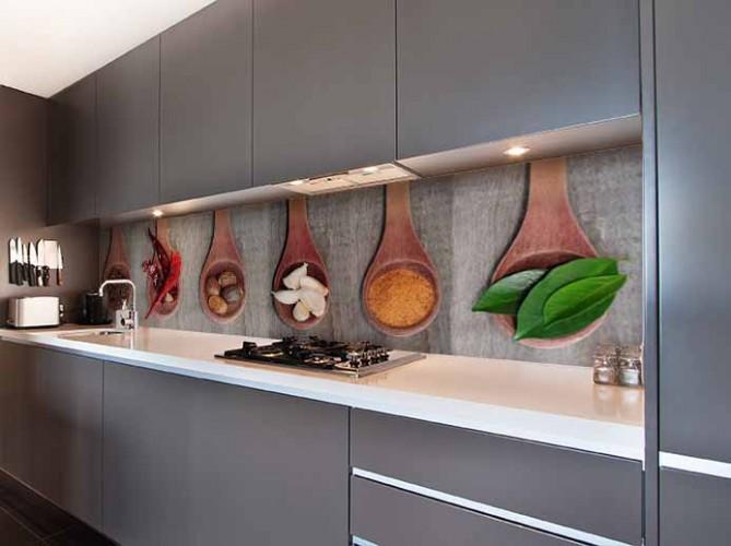 Fototapeta do kuchni z przyprawami