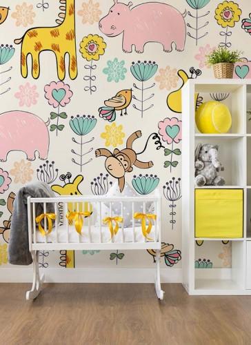 Fototapeta ze zwierzątkami do pokoju dziecka