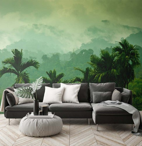 Fototapeta z lasem tropikalnym