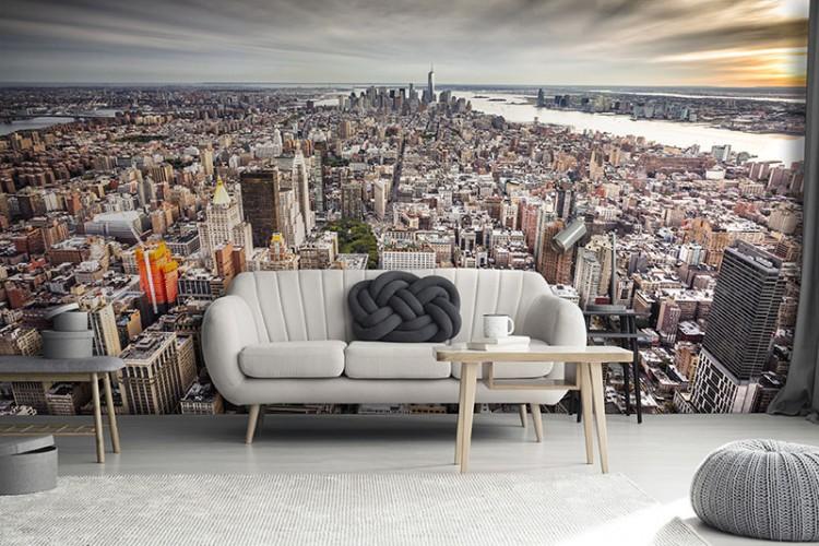 Fototapeta do salonu z panoramą Nowego Yorku