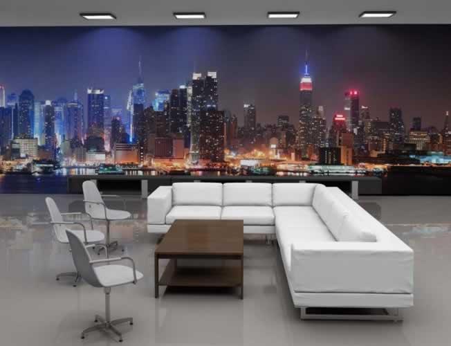 Fototapeta z motywem panoramy miasta Nowy York