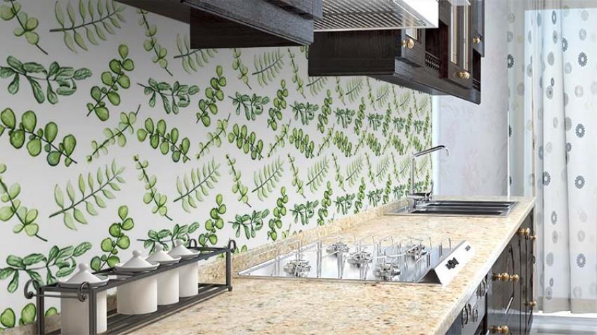 Fototapeta z ziołami do kuchni