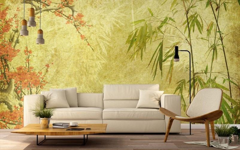 Fototapeta w stylu japońskim do salonu