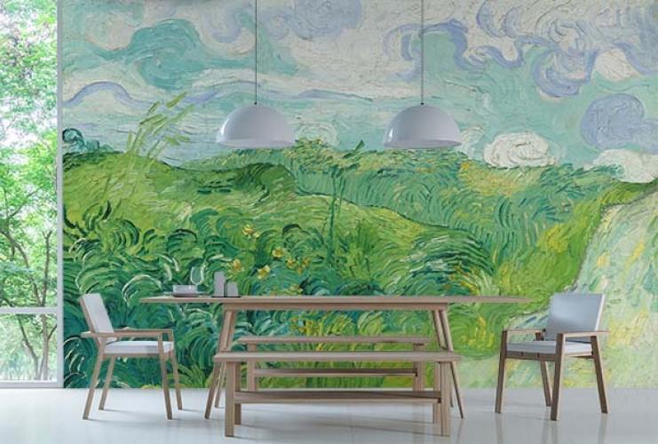 Fototapeta z reprodukcją Vincenta van Gogha do jadalni