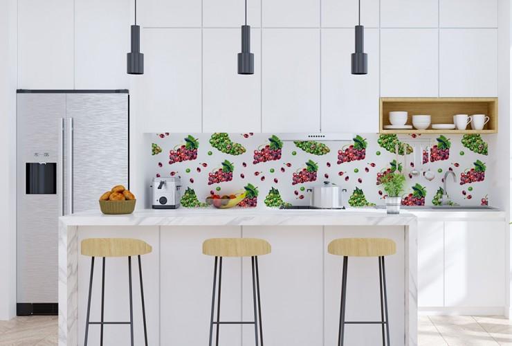 Fototapeta z winogronami do kuchni