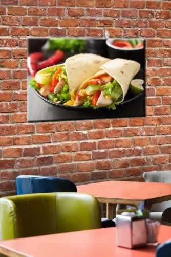 Obraz na płótnie do lunch baru z motywem tortilli