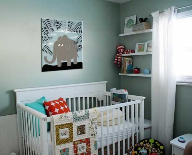 Obraz na płótnie do pokoju dziecka z motywem słonika