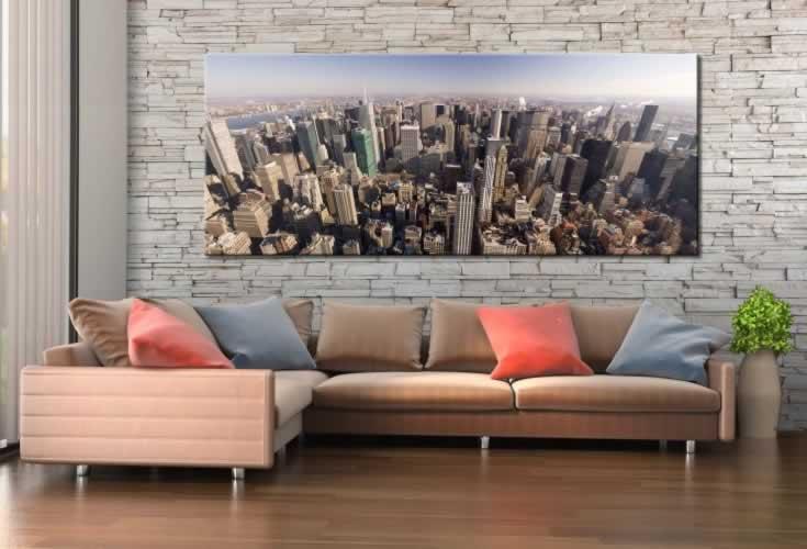 Obraz na płótnie do salonu z panoramą miasta Nowy York