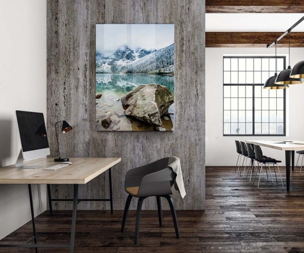 Obraz na plexi do biura - Pejzaż z górami