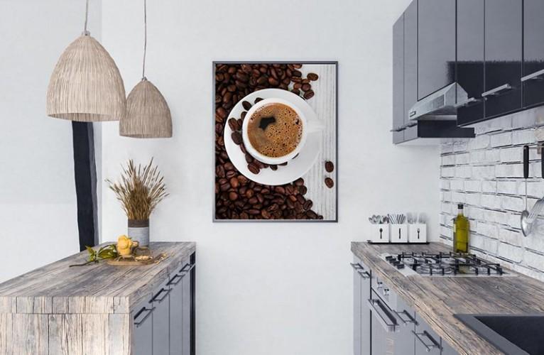Obraz z kawą do kuchni