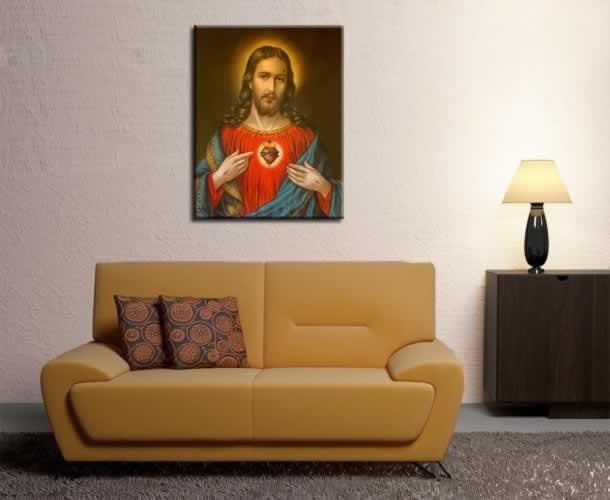 Obraz na płótnie z wizerunkiem Jezusa Chrystusa