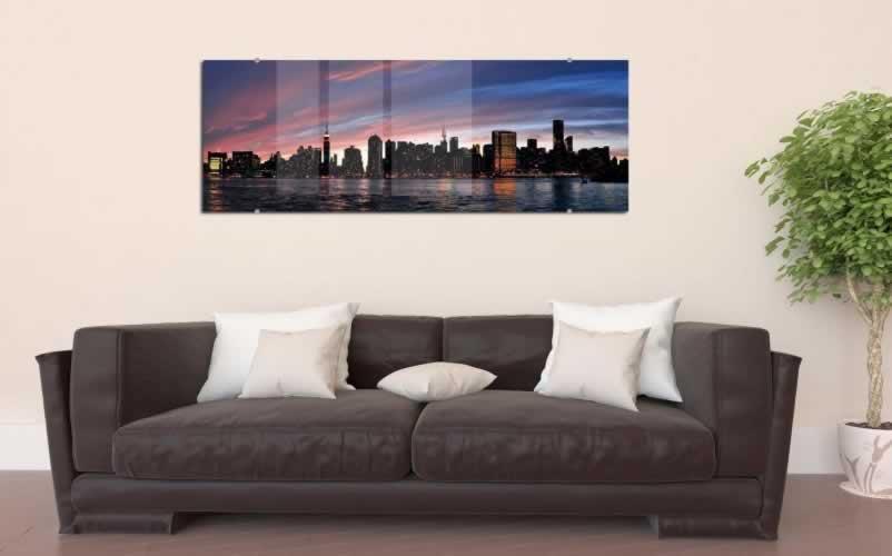 Obraz na szkle Panorama miasta Nowy York